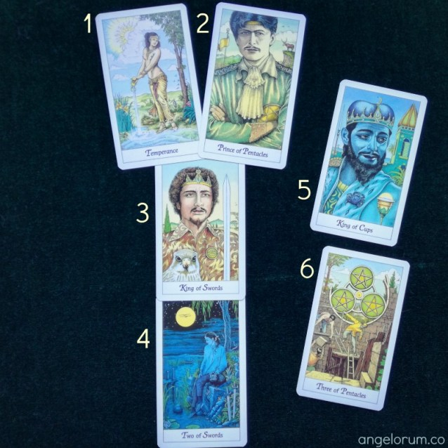 cosmic tarot deck interview