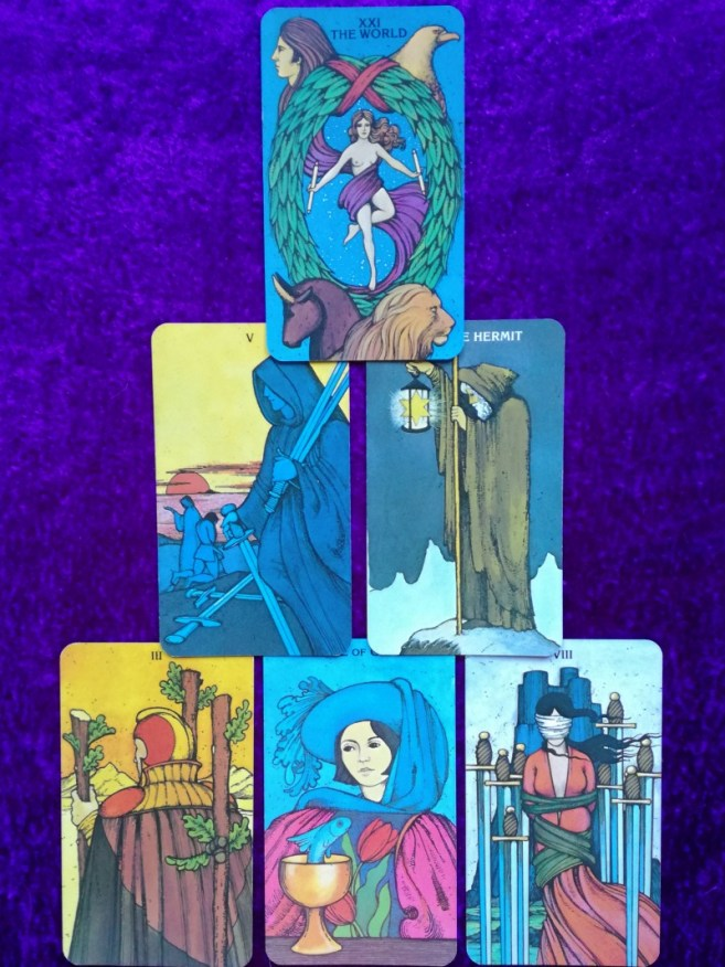 2018 Capricorn Full Moon Tarot Spread ⋆ Angelorum