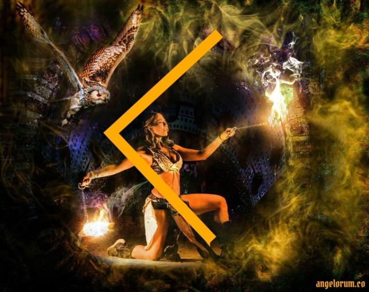 kenaz rune tarot spread