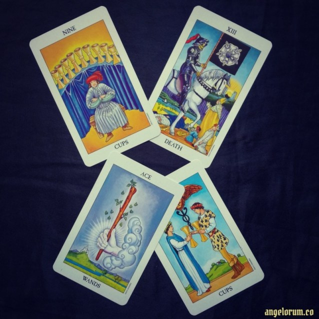 Gebo Relationship Harmony Tarot Spread Sample Reading