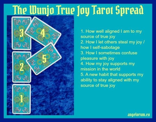 Wunjo True Joy Rune Tarot Spread