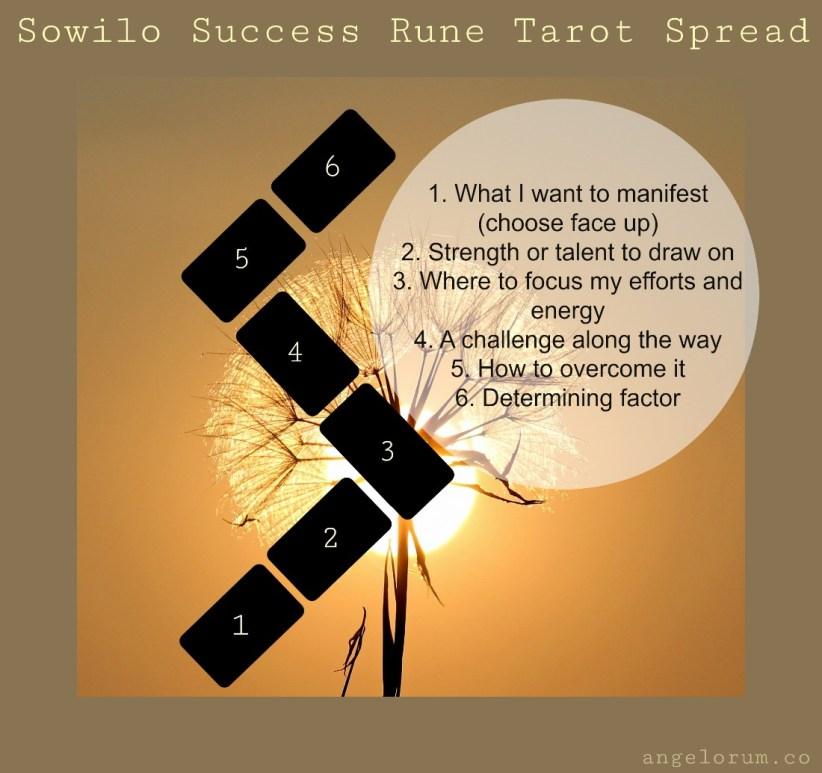 Sowilo Success Rune Tarot Spread