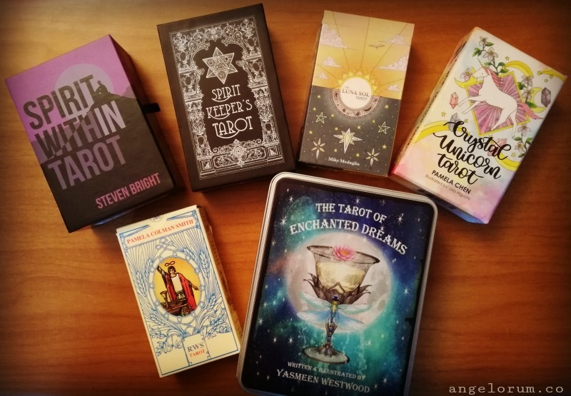 Top Six Tarot Decks of 2018