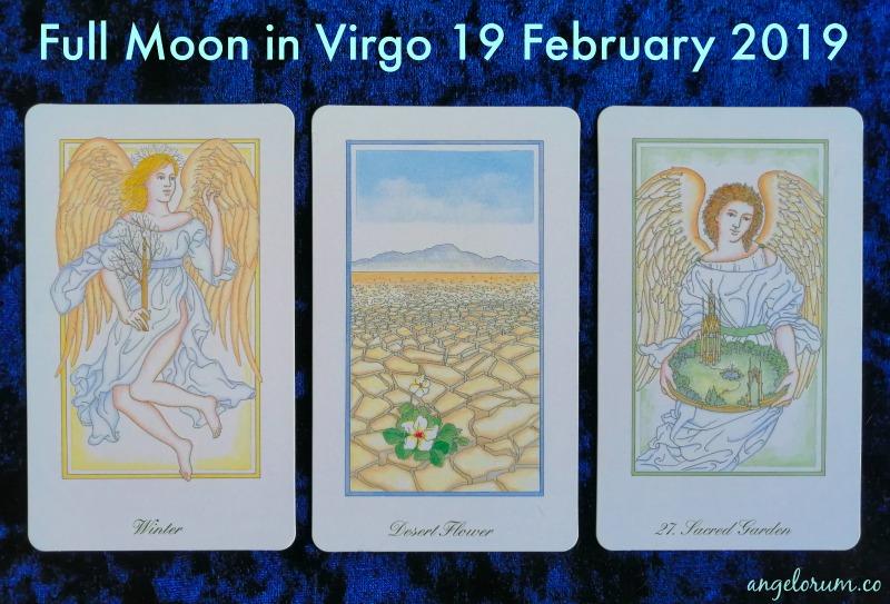 Full Moon in Virgo 19 February 2019 ⋆ Angelorum - Tarot and Healing