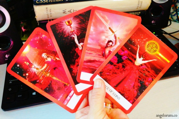 Four Aces Chakra Wisdom Tarot