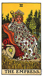 22 Daily Intentions Tarot The Empress