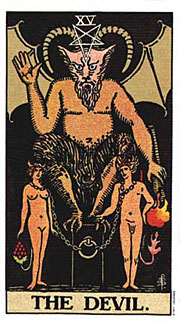 22 Daily Intentions Tarot The Devil
