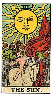 22 Daily Intentions Tarot The Sun