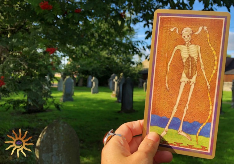 making peace with death - Tarot XIII Death card
