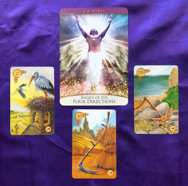 Week Ahead Message from Spirit with the Quantum Oracle and the Celtic Lenormand Pile 2