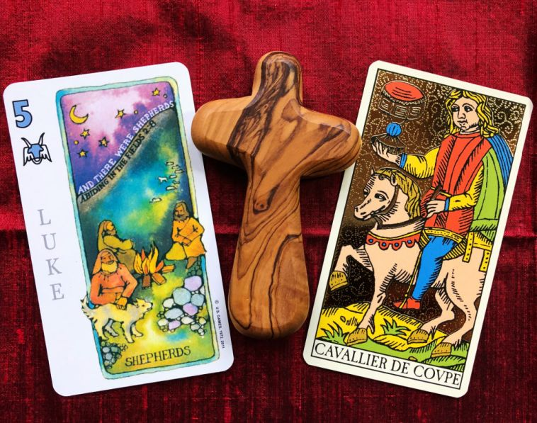 gospel and tarot meditation for the week ahead shepherds gospel of luke