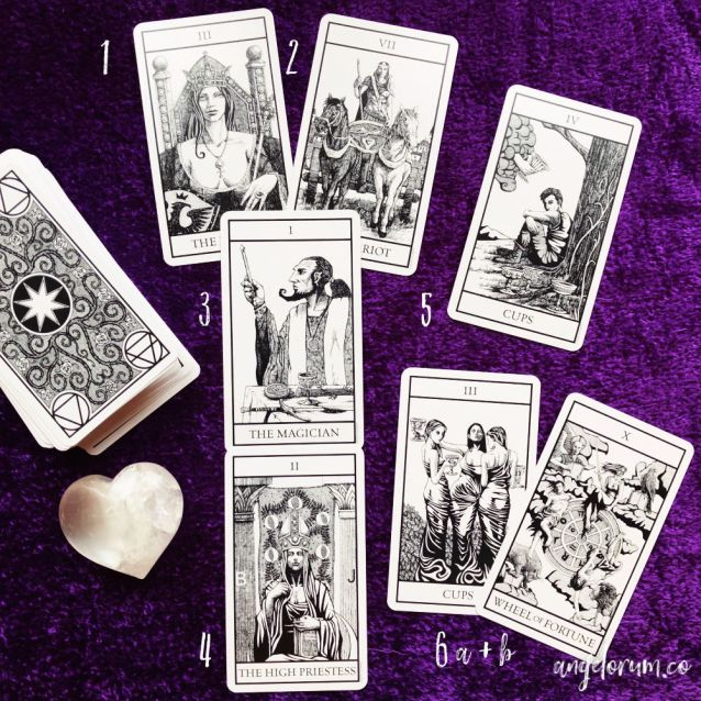 bianco nero tarot review and deck interview