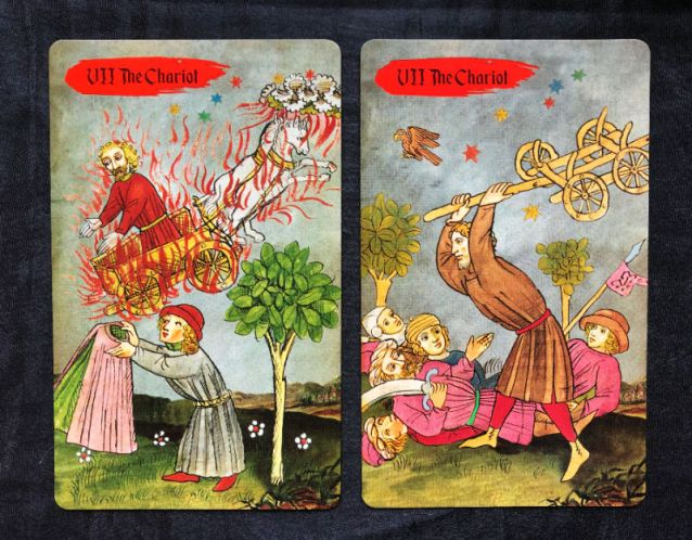 medieval europe tarot review the chariot