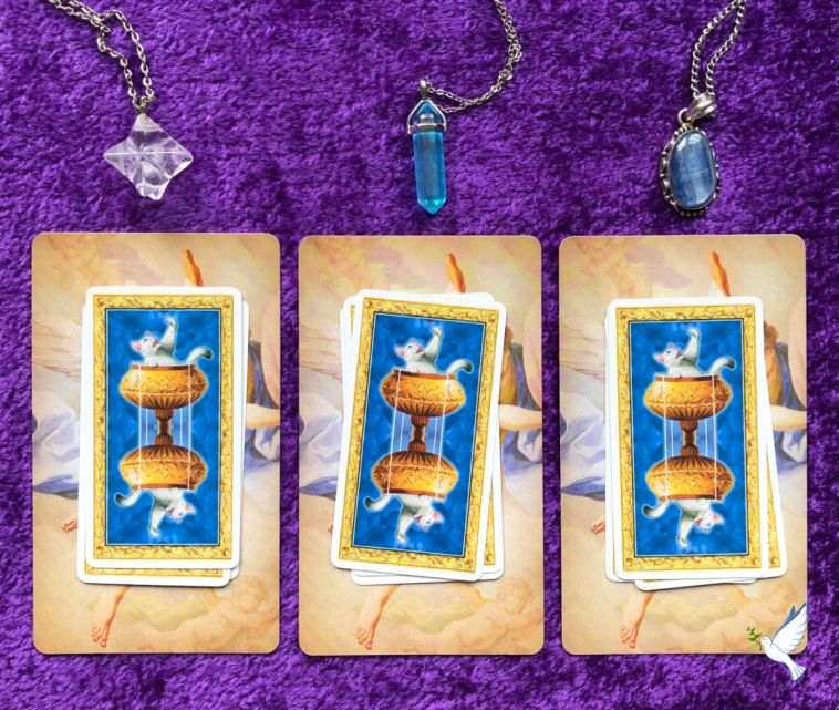 resurrection life now pick-a-pile tarot readings for the week ahead
