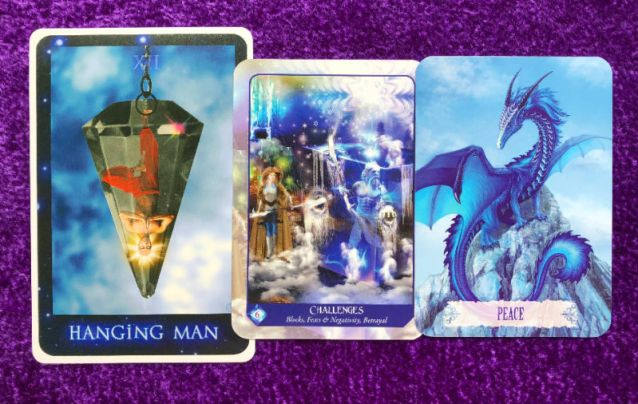 Week Ahead Pick-a-Pile Oracle and Tarot Card Readings - Pile 2