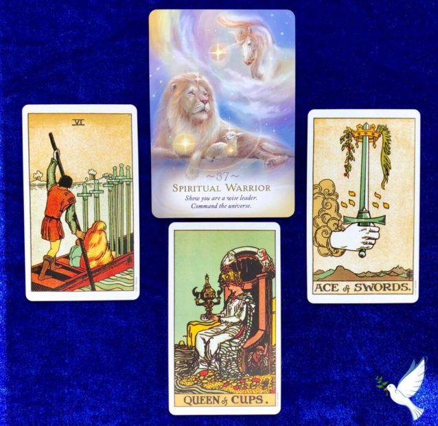 Aquarius Full Moon Tarot Reading for the Collective