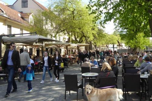 Lokale an der Ljubljanica
