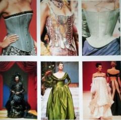 """Modelli di Christian Lacroix / Models by Christian Lacroix Da/from """"Moda. Il secolo degli Stilisti"""" by Charlotte Seeling - 2000"""