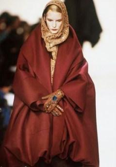 V&A Romeo Gigli fashion show