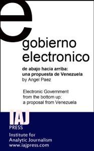 libro gobierno electrónico ángel páez