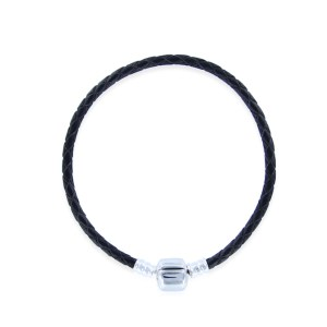 black-leather-bracelet