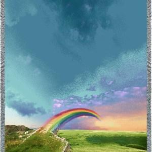 rainbow-bridge-vertical-blanket-angel-paw-print