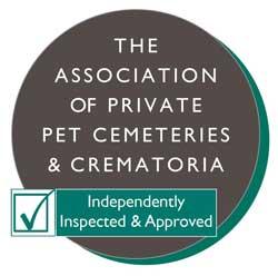 Association of Private pet Cemeteries and Crematoria logo