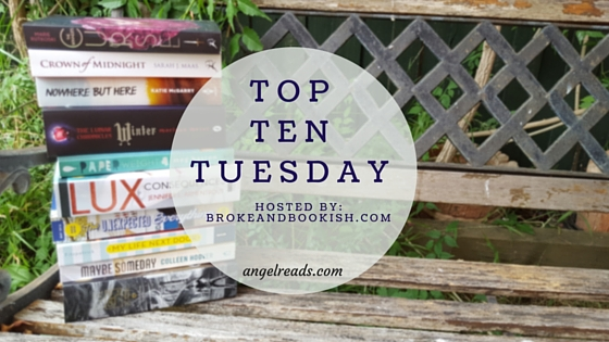 Top Ten Books I've Recently Added To My TBR