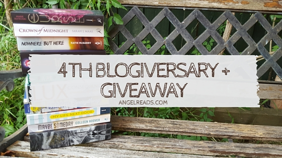 4 Years of Angel Reads + Giveaways (INT)