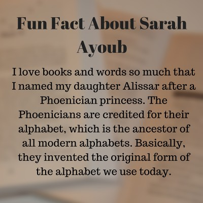 Fun Fact About Sarah Ayoub