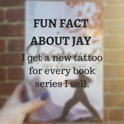 Fun Fact about Jay Kristoff