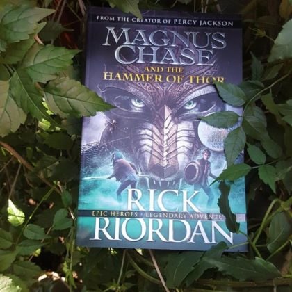Book Review: Magnus Chase and The Hammer of Thor by Rick Riordan