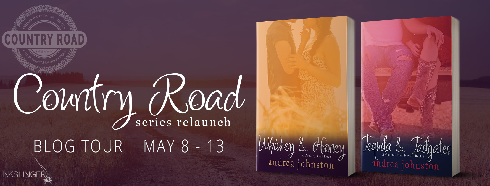 Blog Tour: Country Road Series by Andrea Johnston | Reviews