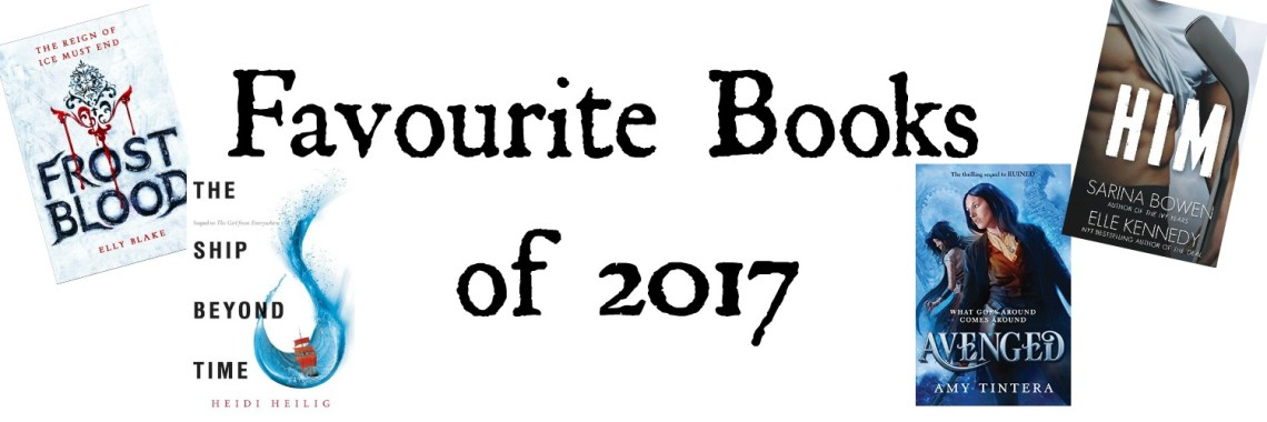 Fav Books 2017