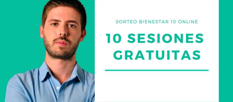 Sorteo – 10 sesiones gratuitas Programa Bienestar 10