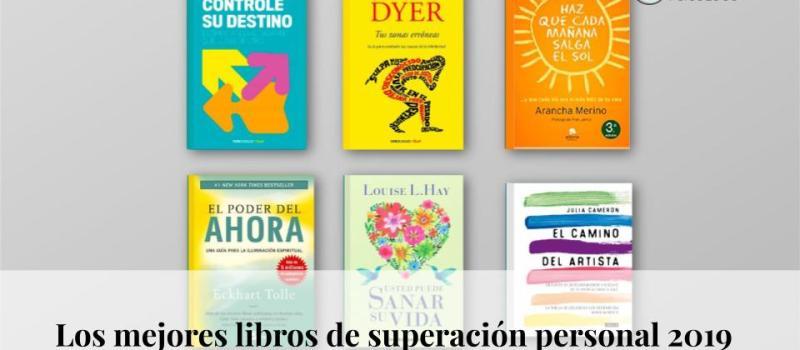 Los mejores libros de superación personal 2019