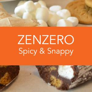 Angels Food Chocolate - Zenzero Spicy & Snappy Chocolate Salami
