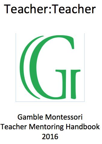 Gamble's Mentoring Program:  Teacher to Teacher