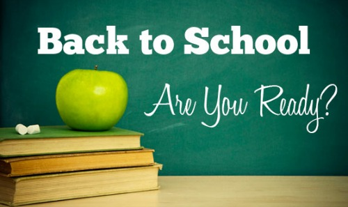 Back to School:  The Prepared Environment
