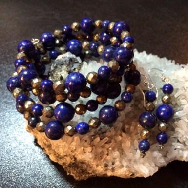 Lapis Lazuli & Pyrite