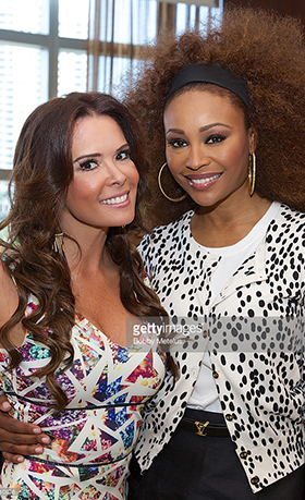 Katrent Siera and Cynthia Bailey