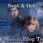 Author Interview: Mimi Sebastian (The Necromancer's Betrayal Book Tour) ~ Excerpt