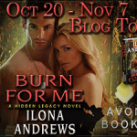 Spotlight: Burn for Me (Hidden Legacy #1) by Ilona Andrews ~ #Excerpt #Giveaway