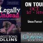 Spotlight: Legally Undead (Vampirarchy #1) by Margo Bond Collins ~ #Excerpt