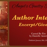 Interview: Danielle Annett (Cursed By Fire Tour) ~ Excerpt