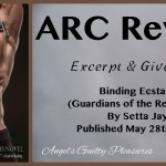 ARC Review: Binding Ecstasy (Guardians of the Realms #6) by Setta Jay {Tour} ~ Excerpt