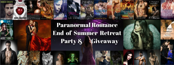 Paranormal Romance End of Summer Party & Giveaway 2015
