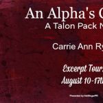 Excerpt Tour: An Alpha's Choice (Talon Pack #2) by Carrie Ann Ryan
