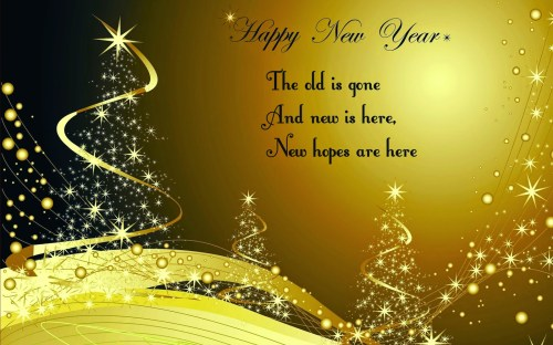 Happy New Year 2016 Messages Wishes