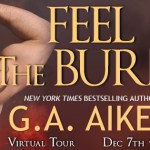 Excerpt/Giveaway: Feel the Burn (Dragon Kin #8) by G.A. Aiken {Tour}